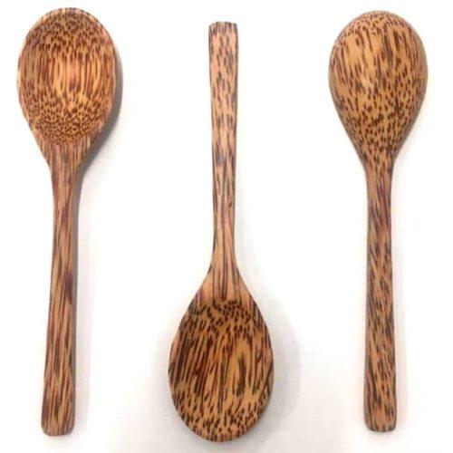 Kookose puidust lusikas- käsitöö