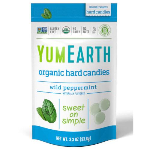 Yumearth luomu minttukarkit