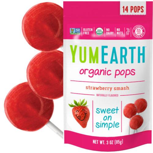Maasikamaitselised mahedad pulgakommid 14tk