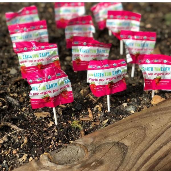 Maasikamaitselised pulgakommid-yummikommid Yumearth