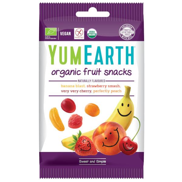 puuviljamaitselised kummikommid/snäkid