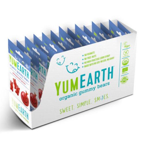 Yumearth granaatounamaitselised kummikarud- Yummikommid