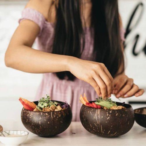 Kookospähkli Koorest Kauss- JUMBO