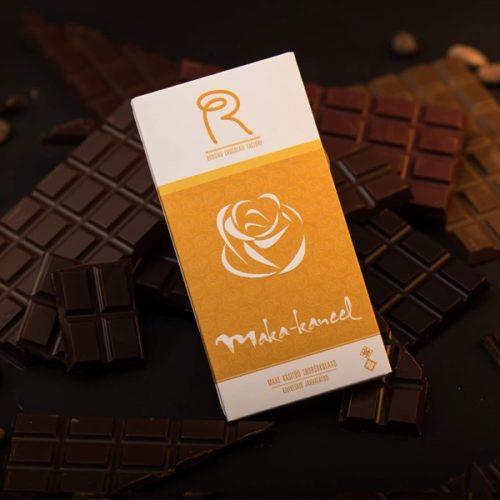 Roosiku mahe tooršokolaad maka ja kaneeliga