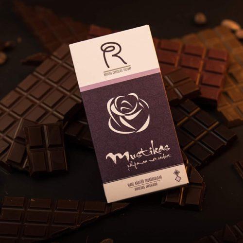 Roosiku mustikamaitseline mahe tooršokolaad