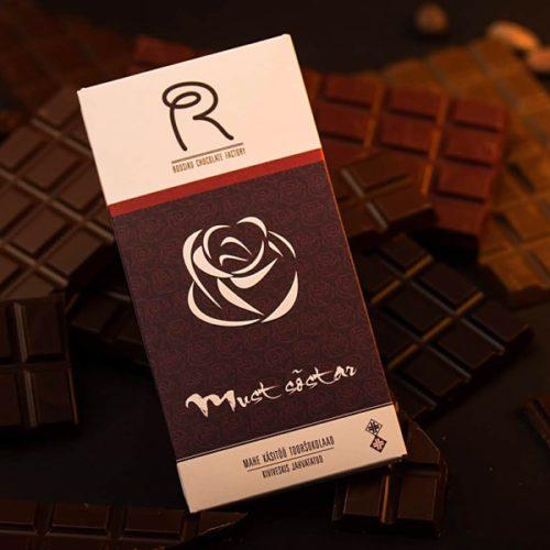 Roosiku mahe tooršokolaad mustsõstardega