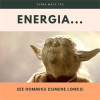 energia mate, esimene lonks hommikul