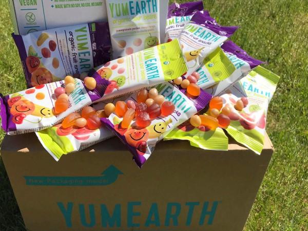 Yumearth mix- snäkid ja beansid kastipeal