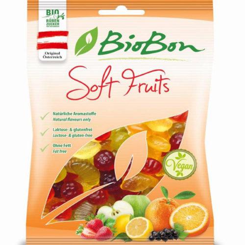 BioBon kummikommid- puuviljamaitselised 100g
