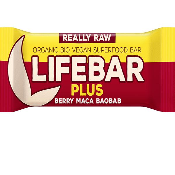 Lifebar toorbatoon maca ja baobabiga