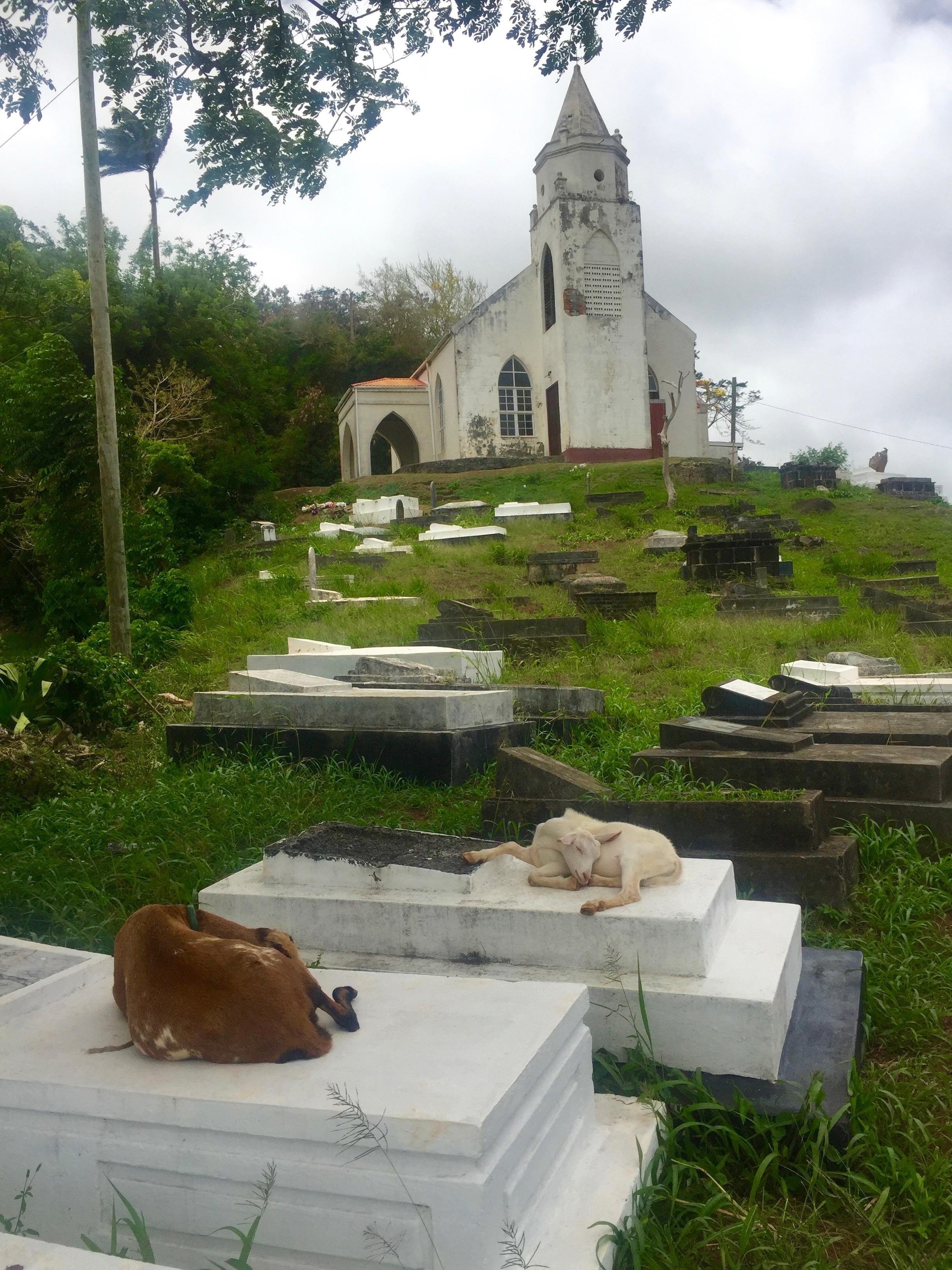 Kirik ja puhkepaik