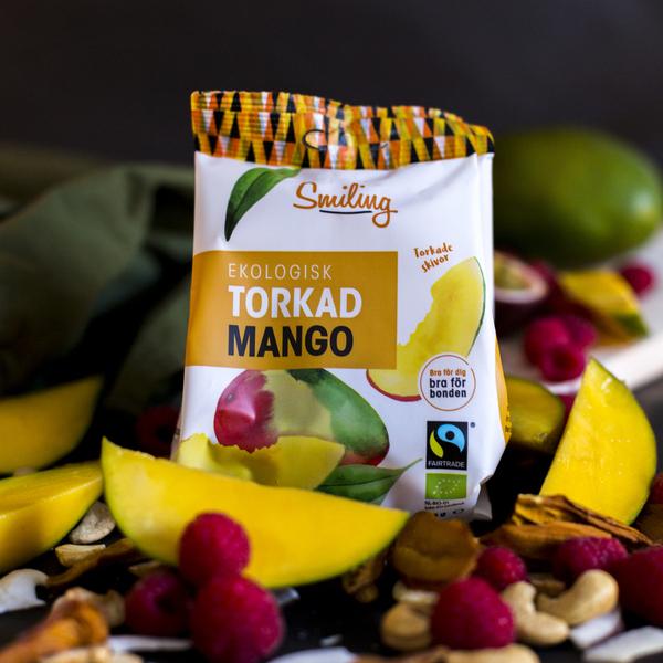 Mahe Kuivatatud Mango Granadilli ja Laimiga