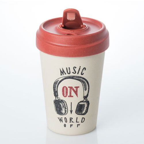 CHICMIC Bamboo Cup / bambustops Music on - 400ml