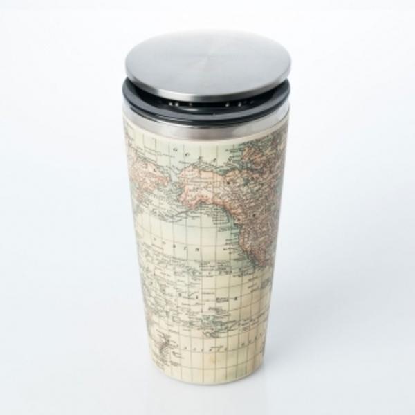 Antique Map Slidecup