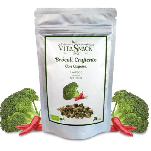 Brokoli toorkrops cayenne'i pipraga