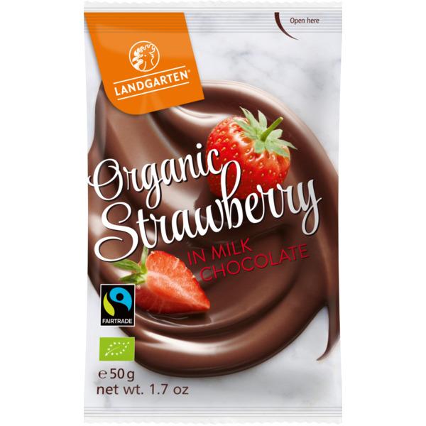 Landgarten Mahe Maasikas piimašokolaadis - 50g