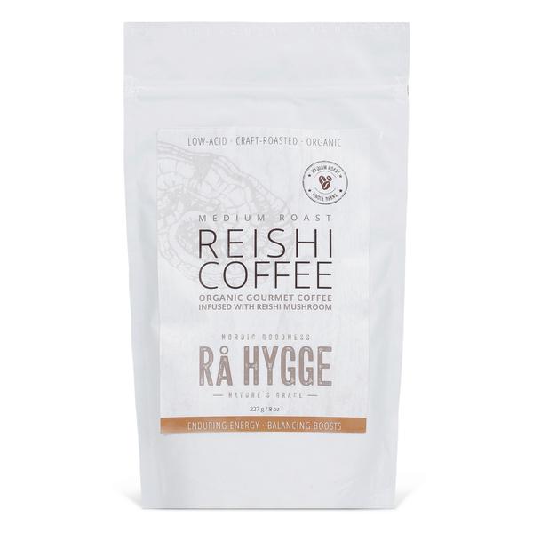 Rå Hygge REISHI COFFEE mahe gurmeekohv reishi seene ekstraktiga – keskmine röst, KOHVIOAD 1kg