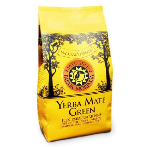 Yerba Mate Green Moringa ja Papaia 200g