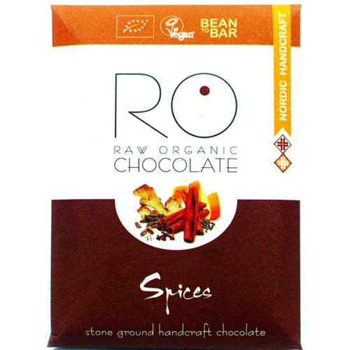 Roosikun luomu käsintehty suklaa - Talvimausteet (Spices) 37g