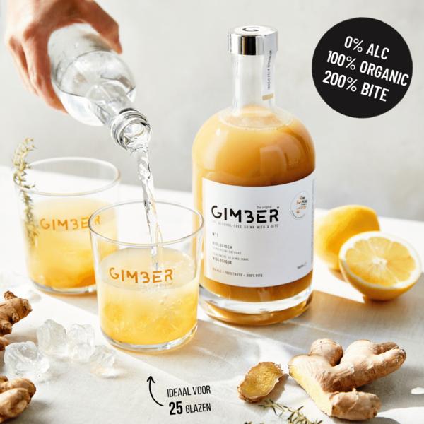 Gimber The Original- Mahe Ingveri Eliksiir 700ml
