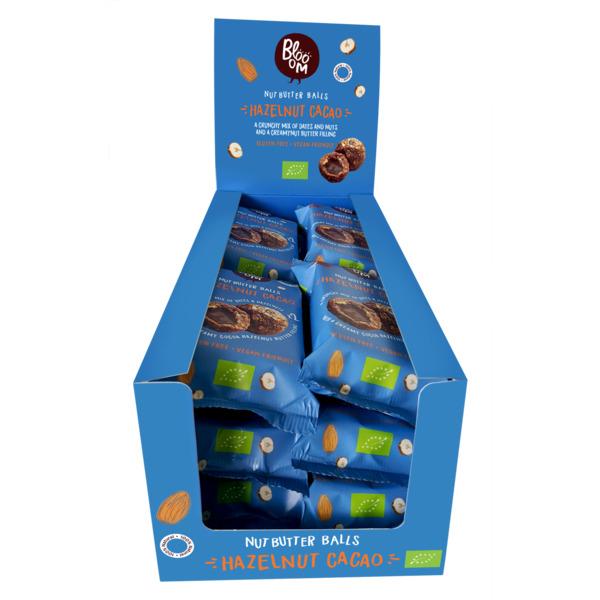 Mahe Energiapall (toor) - Sarapuupähkli- ja Kakaotäidisega 32g (10+2) Maxi