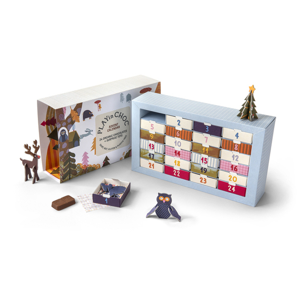 PLAYinCHOC Advendikalender- 24 päeva
